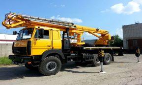 Автовышка МАЗ - 18 метров
